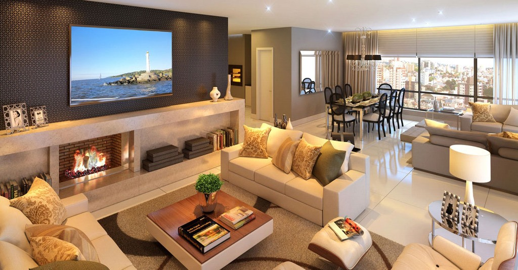 Bentley: Living do apartamento